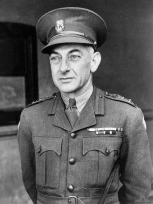 Jack Stevens - Brigadier Jack Stevens in Sydney, October 1940