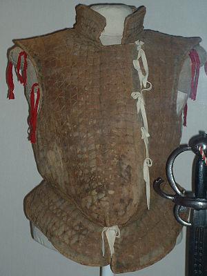 Brigandine - Jack of plates, English, c1580-90