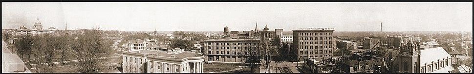 Jackson Mississippi Panorama 1910