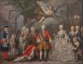 Jacopo Amigoni - Ferdinando VI di Borbone e Barbara di Braganza con la Corte.png