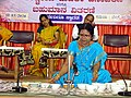 Jaltarang music concert by Vidushi Shashikala Dani at SJMVS Women's College Hubballi.jpg