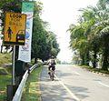 Jalur sepeda sentul city.jpg