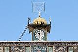 Jameh Mosque, Kerman - clock.jpg