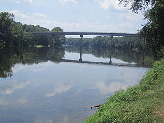 Scottsville, Virginia - James River at Scottsville