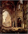 Jan Baptiste de Jonghe - View if the ruins of the abbey of Villers-la-Ville.jpg