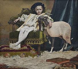 Keizer Karel als kind
