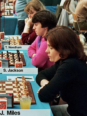 Jana Bellin - Jana Miles (Bellin), Olympiad Luzern 1982