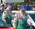 Janne Tuohino and Mikko Markkula (Škoda Fabia WRC).jpg