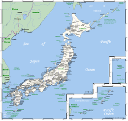 Geography of Japan - Wikipedia