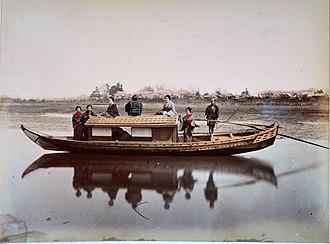 Sampan - Image: Japon 1886 32