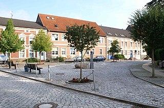 Jarmen Place in Mecklenburg-Vorpommern, Germany