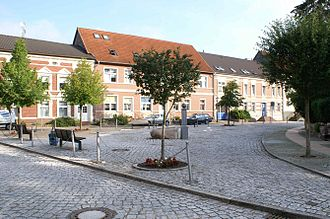 Jarmen - Old Marketplace