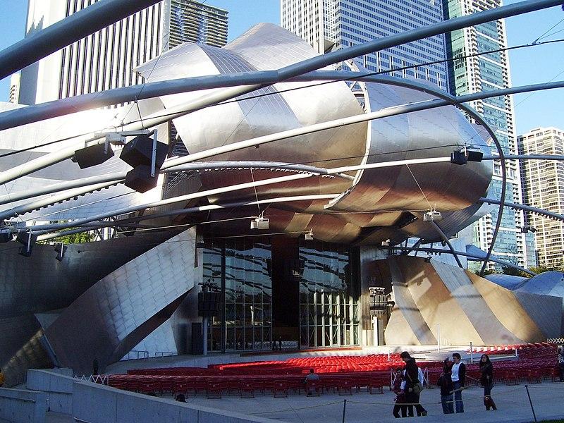 File:Jay Pritzker Pavilion Millennium Park Chicago 2.jpg