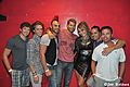 Jaymes Vaughan and Kristine W (with fans).jpg