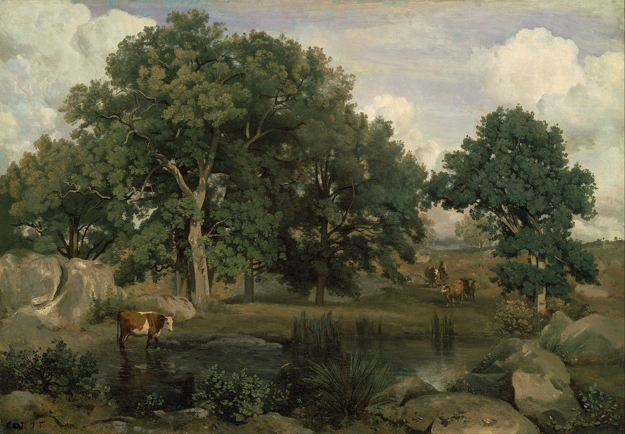 fichier jean baptiste camille corot forest of fontainebleau google art wikip dia. Black Bedroom Furniture Sets. Home Design Ideas
