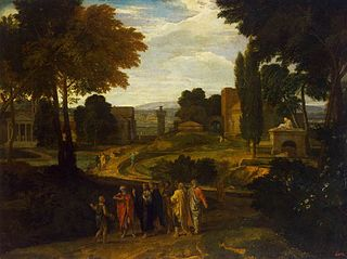 Landscape with Christ and His Disciples