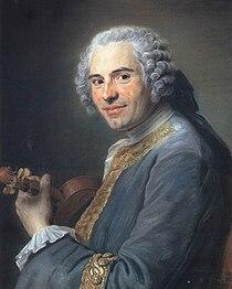 Jean-Joseph de Mondonville, by Maurice Quentin de La Tour, ca. 1746.