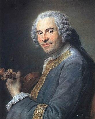 Jean-Joseph de Mondonville - Jean-Joseph de Mondonville, by Maurice Quentin de La Tour, ca. 1746