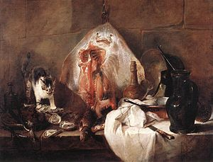 Luncheon in the Studio - Image: Jean Siméon Chardin The Ray WGA04738