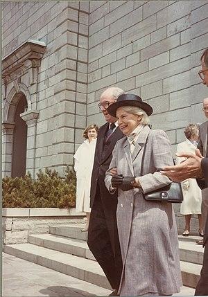 Jeanne Sauvé - Sauvé in Ottawa, 1984