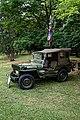 Jeep, 1943, 2199cc, in Easton Lodge Gardens, Little Easton, Essex, England 2.jpg