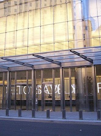 Jenny Holzer - Installation in lobby at 7 WTC