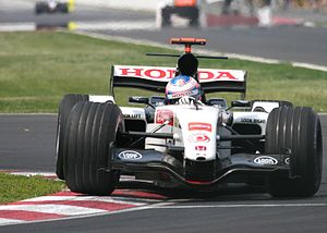 BAR 007 - Image: Jenson Button 2005 Canada 2
