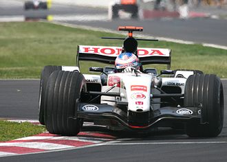 2005 Canadian Grand Prix - Jenson Button took pole position in qualifying for the BAR team.