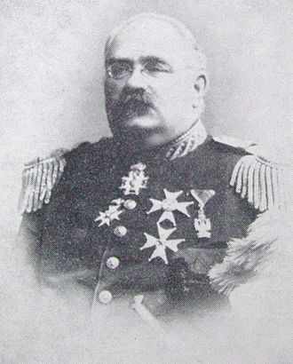 Boden Fortress - Jesper Crusebjörn, Minister for War and driving force behind the decision to construct Boden Fortress.
