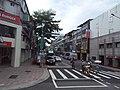 Jiuquan Street between Mos Burger and Shin Kong Bank 20190812.jpg
