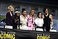 Jodie Whittaker, Regina King, Amandla Stenberg, Chloe Bennet, Camila Mendes & Jessica Shaw (43791384051).jpg