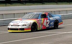 Joe Nemechek - Nemechek's No. 42 BellSouth-sponsored race car in 1997