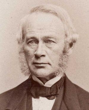 Johan Henrik Andresen (1815–1874) - Johan Henrik Andresen in 1870. Photo by Frederik Klem.