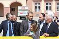 Johann W. Wagner, Lutz Pauels, Steffen Künster, Dr. Specht und Dr. Theo Zwanziger.jpg