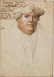 Jean Trithème (1462-1516)