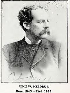 John W. Meldrum American judge