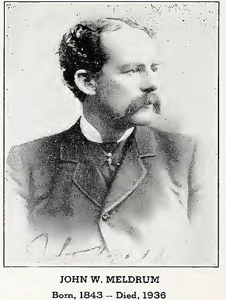 John W. Meldrum - Image: John W Meldrum YNP