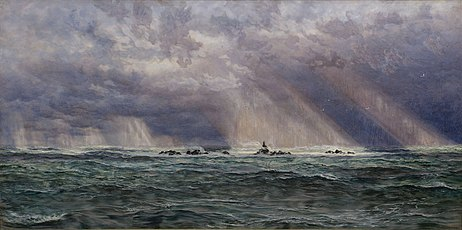 John Brett - A North-West Gale off the Longships Lighthouse - Google Art Project.jpg