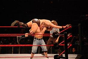 High-flying wrestling
