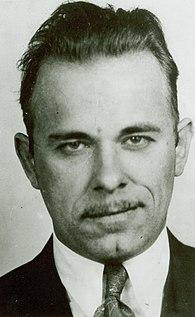 John Dillinger American bank robber