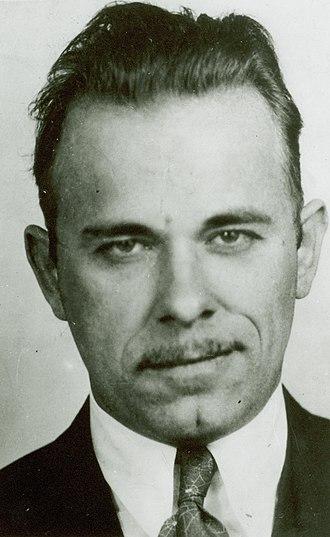 Public enemy - Image: John Dillinger mug shot