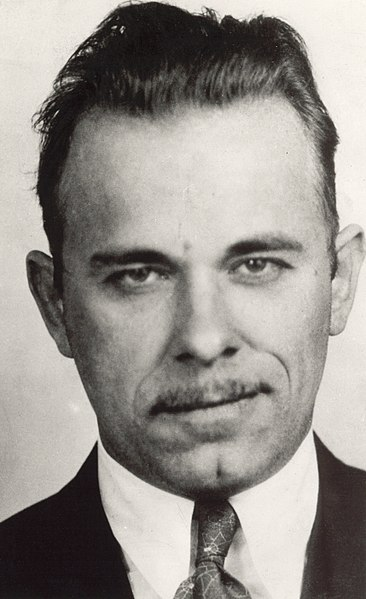 John Dillinger (photo: wikimedia.org)