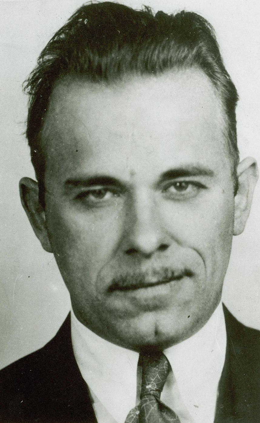 John Dillinger mug shot