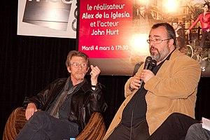 English: Rendezvous with John Hurt and Álex de...