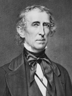 John Tyler 10th president of the United States