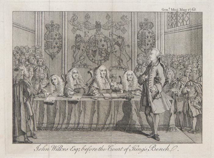 John Wilkes Esq before the Court of King's Bench