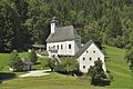 Johnsbach Kirche Pfarrhof Friedhof.JPG