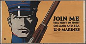 Join me - the first to fight on land and sea - U.S. Marines LCCN2002709054