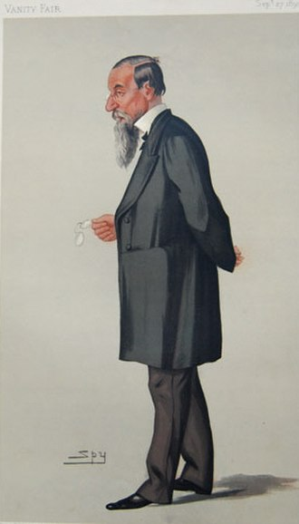 Jonathan Hutchinson - Caricature for Vanity Fair by Spy