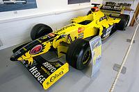 Jordan 198 front-left Donington Grand Prix Collection.jpg